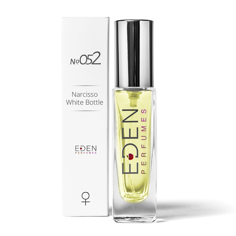 No.052 Narcisso White Bottle - Floral Woody Musk Women's